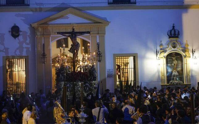 El Cristo de la Expiración del Museo el Lunes Santo. Foto: Manuel Gómez