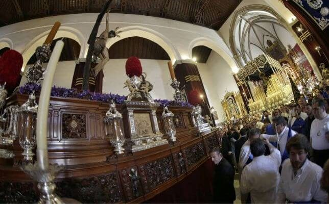 La Hiniesta el Domingo de Ramos de la Semana Santa de Sevilla. Foto: Vanessa Gómez