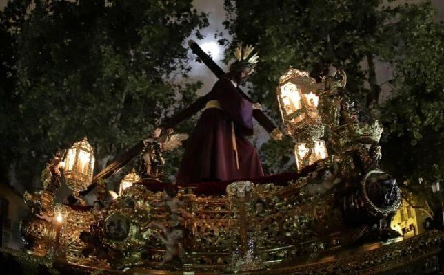 El Señor del Gran Poder en la Madrugada de la Semana Santa de Sevilla