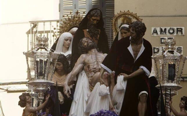 Santa Marta el Lunes Santo. Foto: Manuel Gómez