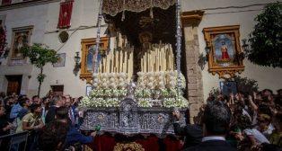 Virgen de la Encarnación de San Benito el Martes Santo. Foto: Vanessa Gómez