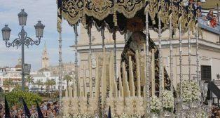 La Estrella el Domingo de Ramos de la Semana Santa de Sevilla. Foto: Raúl Doblado