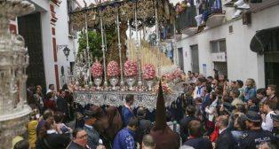 Virgen de la Palma del Buen Fin el Miércoles Santo. Foto: Rocío Ruz