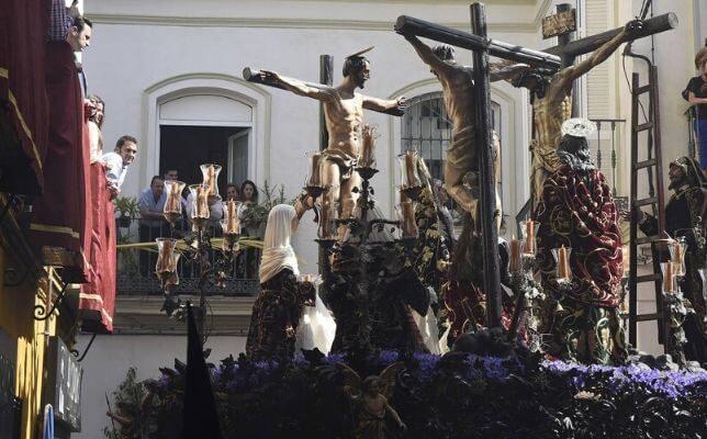 La Carretería el Viernes Santo. Foto: Pepe Ortega