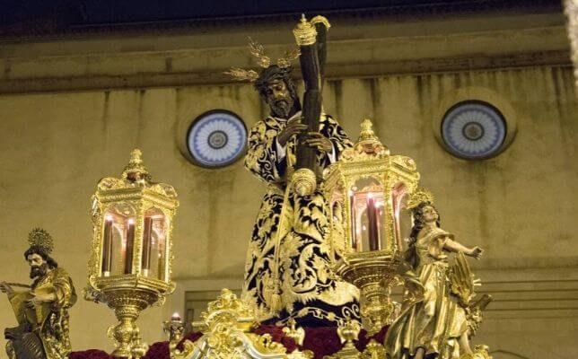 Los Gitanos la Madrugada del Viernes Santo. Foto: Rocío Ruz