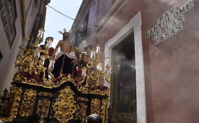Jesús Despojado el Domingo de Ramos. Foto: Jesús Spínola