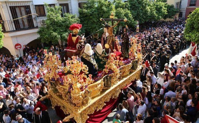 La Lanzada el Miércoles Santo. Foto: Rocío Ruz