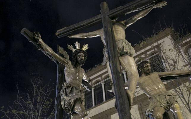 Montserrat el Viernes Santo. Foto: Juan Flores