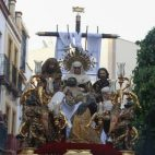 La Sagrada Mortaja el Viernes Santo.