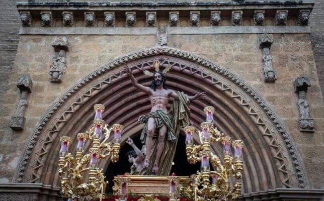 La Resurrección. Foto: Vanessa Gómez
