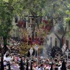 San Bernardo el Miércoles Santo. Foto: J. M. Serrano