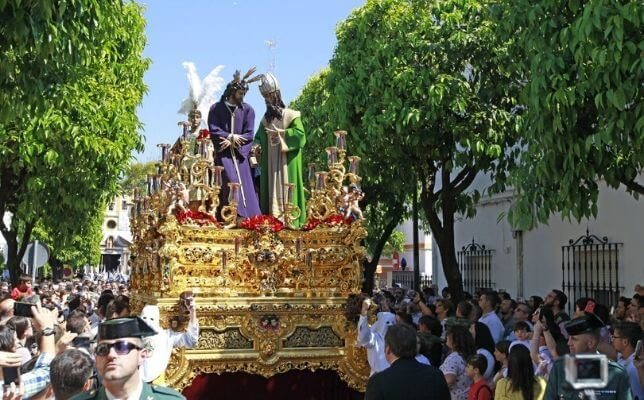 San Gonzalo el Lunes Santo. Foto: Raúl Doblado