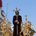 Santa Genoveva el Lunes Santo. Foto: Raúl Doblado