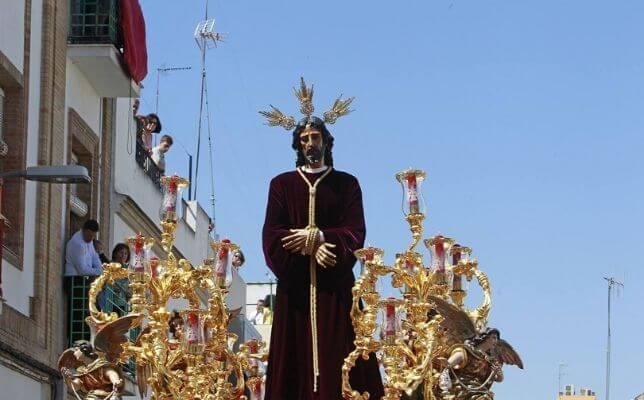 Santa Genoveva hará un misa a la hora de su salida el Lunes Santo ...
