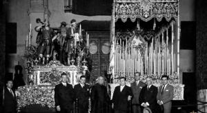 Imagen histórica del misterio de la Exaltación.