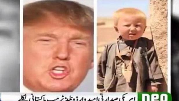 Una cadena de televisi n asegura que donald trump naci en pakist n - Tiempo en pakistan ...