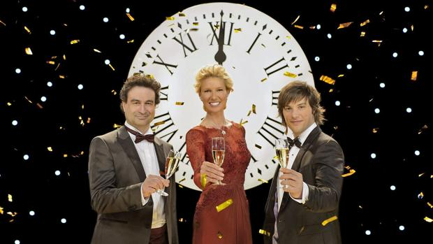 Pepe Rodríguez, Anne Igartiburu y Jordi Cruz ya dieron las campanadas en TVE el 2013