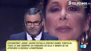 Jorge Javier ataca con dureza a Isabel Pantoja: «Prefiero estar en la mierda que a su lado»