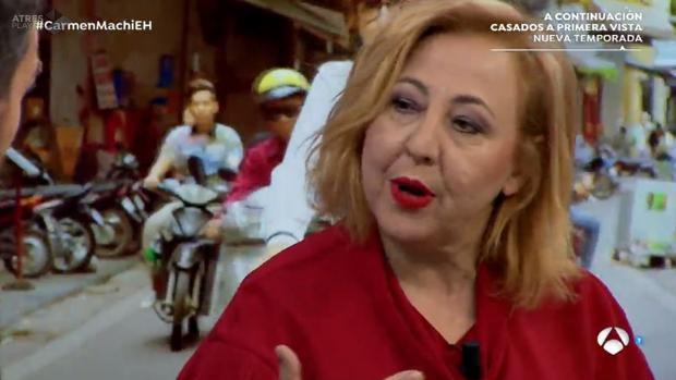 Carmen Machi, en «El Hormiguero»