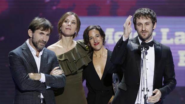 Fotografía de archivo de los Premios Forqué 2017, en que la película «Tarde para la ira» recibió el galardón a al mejor Largometraje de Ficción y Animación,