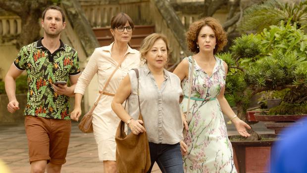 En «Thi Mai, rumbo a Vietnam» Carmen Machi, Adriana Ozores y Aitana Sánchez-Gijón van al sudeste asiático a cumplir el sueño de la hija de Carmen