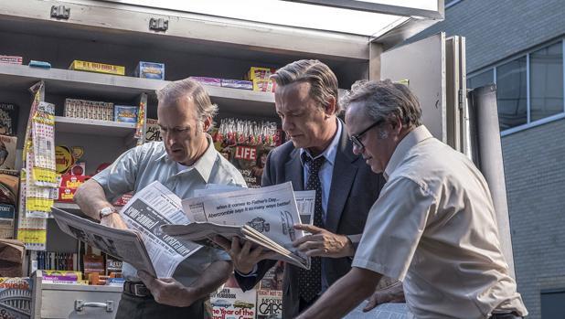 Tom Hanks en el quiosco