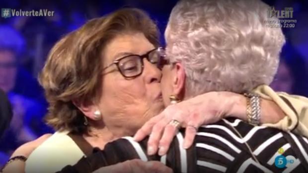 Damiana y Loli, tras reconciliarse ante toda España en «Volverte a Ver»