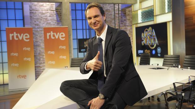 Javier Cárdenas, presentador de «Hora punta» en TVE