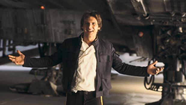 Han Solo en «Star Wars: El imperio contraataca»
