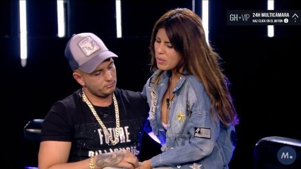 Omar Montes, junto a Isa Pantoja en «GH VIP»