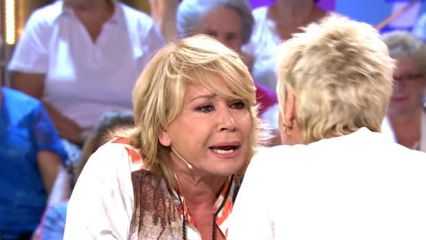 Mila Ximénez grita a Terelu Campos
