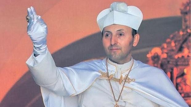 Gregorio XVIII, durante su pontificado en El Palmar