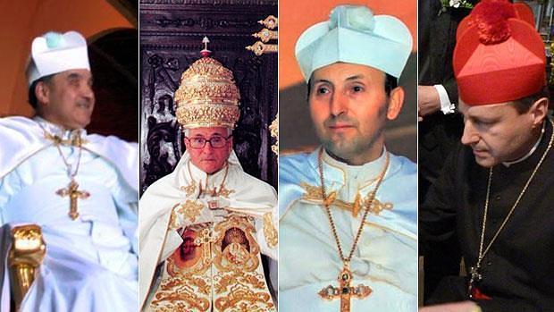 Gregorio XVII, Pedro II, Gregorio XVIII y Pedro III, los «papas» del Palmar