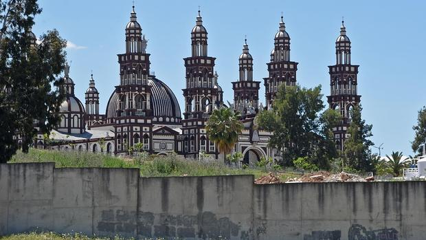 La basílica del Palmar, desde el exterior