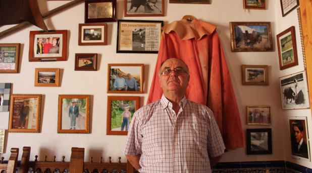 Diego Mateos ha recibido reconocimientos por su vida dedicada a la tauromaquia