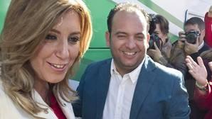 Susana Díaz junto al alcalde imputado