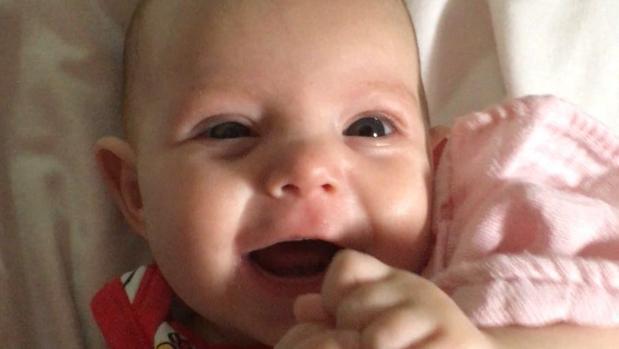 Alexandra, la bebé de Cantillana que padece hipertensión pulmonar severa
