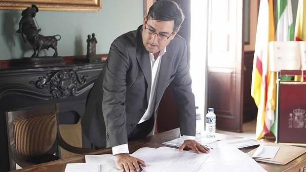 El alcalde de Utrera en una imagen de archivo
