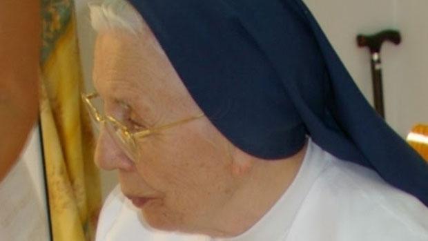 Sor Ángela Peñacoba ha fallecido en Alcalá a la edad de 94 años/ABC