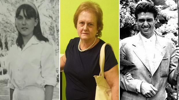Rosario Bermudo (a la izquierda en su juventud y en el centro actualmente) pide en los tribunales que se le reconozca como la primogénita de Gregorio González de Gregorio y Martí (derecha), marido de la que duquesa de Medina Sidonia
