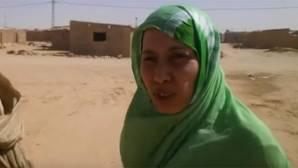Maloma, en las horas previas a su boda saharui: «Estoy con mi familia, sin estar secuestrada ni nada»