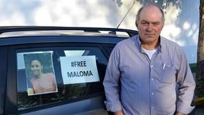 José Morales, el padre adoptivo de la joven Maloma, en una imagen de archivo