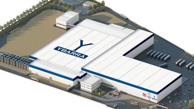 Así es el «proyecto espectacular» de Grupo Ybarra para su nueva fábrica