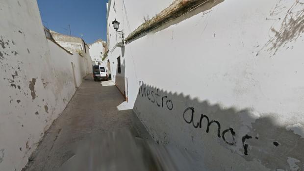 La calle en la que ha aparecido el muro romano