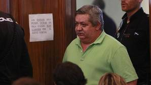 El acusado durante la sesión del juicio de este martes