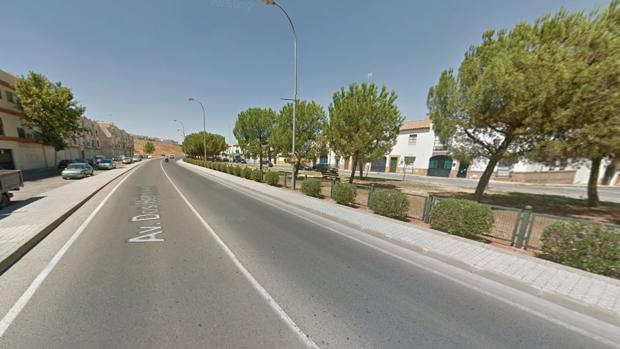 El accidente de tráfico ha ocurrido a la altura del número 27 de la avenida de Dos Hermanas