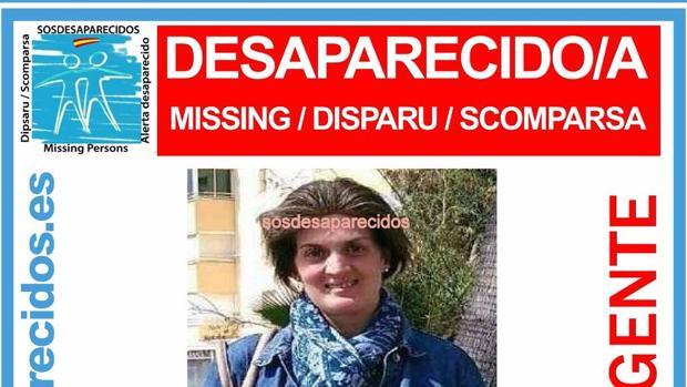 La imagen difundida por la familia cuando denunció su desaparición el pasado 23 de abril