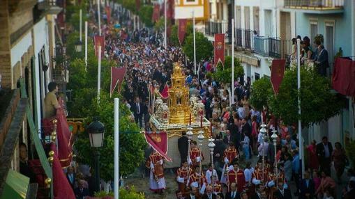 Celebración del Corpus en la Puebla del Río