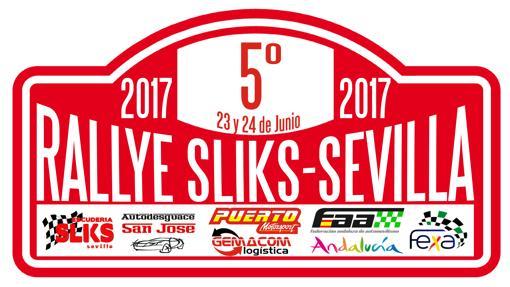 Cartel de la quinta edición del Rally Sliks Sevilla