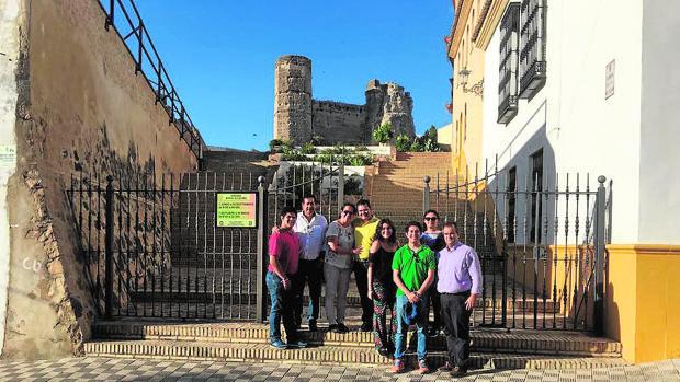 Los turistas guatemaltecos realizaron un itinerario por la localidad que les permitió conocer muchas de las joyas «ocultas» que encierra Marchena